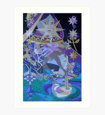 The Lunar Queen Art Print