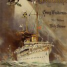 German Imperial Yacht Hohenzollern.. early 1900's by edsimoneit