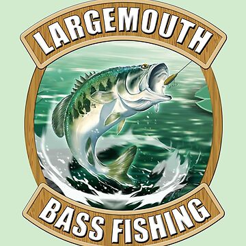 Largemouth Bass Fishing by wrapgraphics