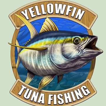 Yellowfin Tuna Fishing by wrapgraphics