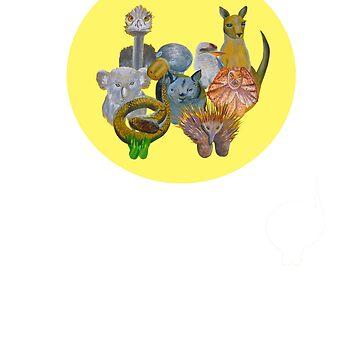 Australian fauna by davidfraser