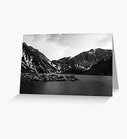 Dusk at Convict Lake in Mono Greeting Card
