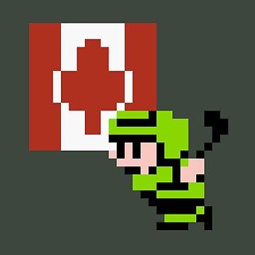 Hockey Player - Canada by Deezer509