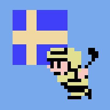 Hockey Player - Sweden by Deezer509