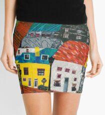 Reykjavik Rooftops Mini Skirt