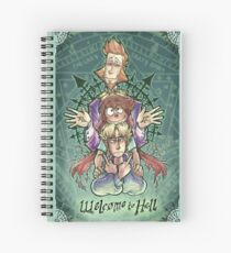 W2H - Hierarchy Spiral Notebook