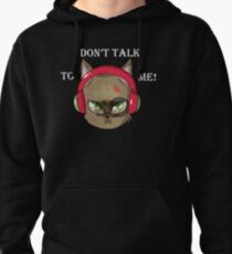 Headphones on! Don't Talk To Me! Pullover Hoodie
