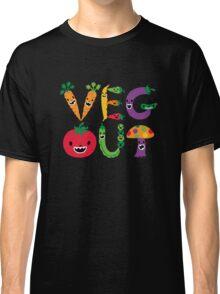Veg Out - dark colors Classic T-Shirt