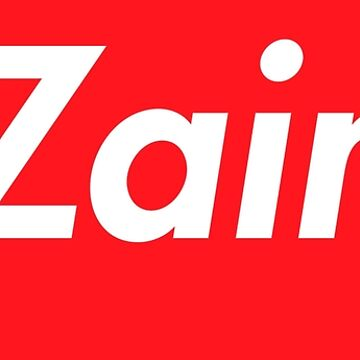 Hello My Name Is Zain Name Tag by efomylod
