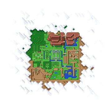Overworld Map by Deezer509
