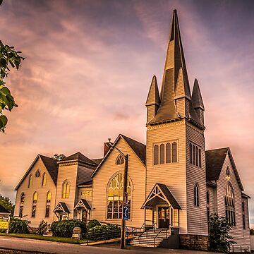 Church in Windsor, Nova Scotia by sruhs