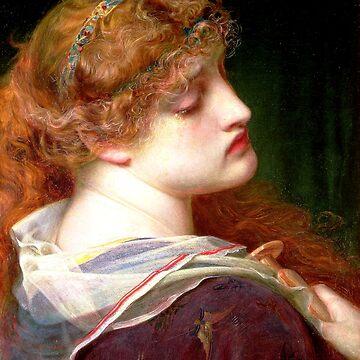 Mary Magdalene - Anthony Frederick Sandys 1862 by forgottenbeauty