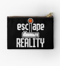 Gamer Meme Escape Reality Studio Pouch