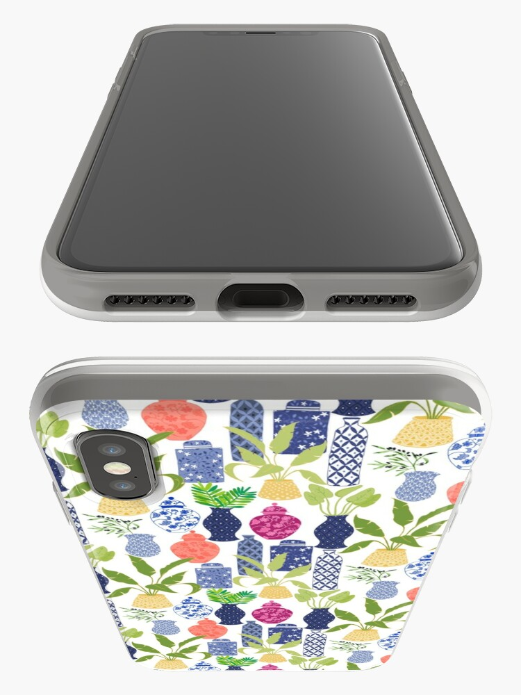 Alternate view of Chinoiserie Vases iPhone Case & Cover