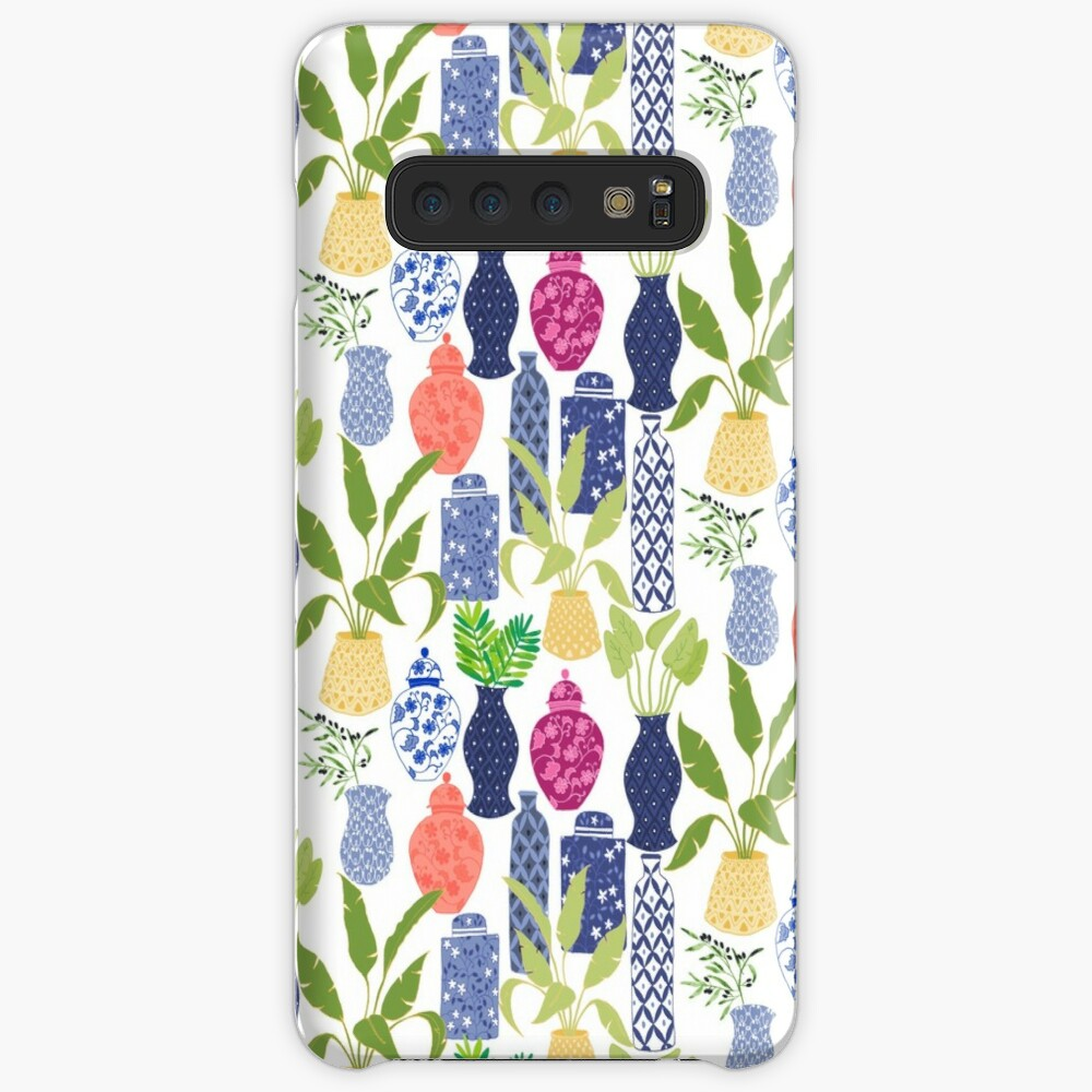Chinoiserie Vases Case & Skin for Samsung Galaxy