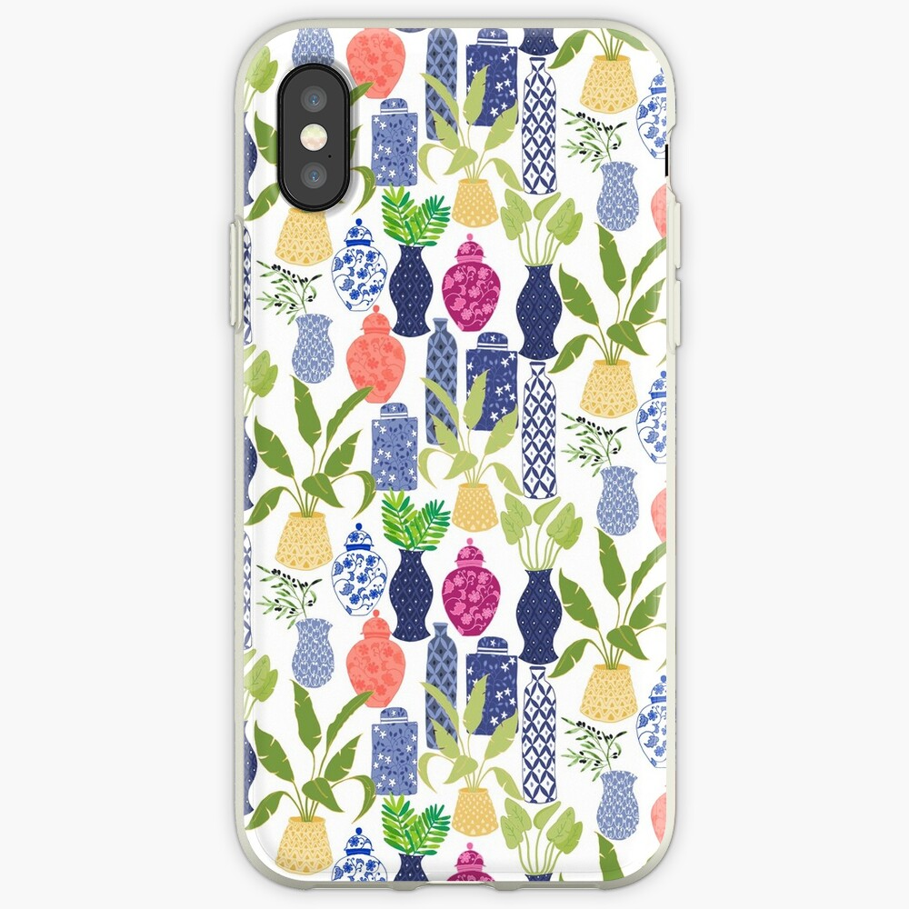 Chinoiserie Vases iPhone Case & Cover