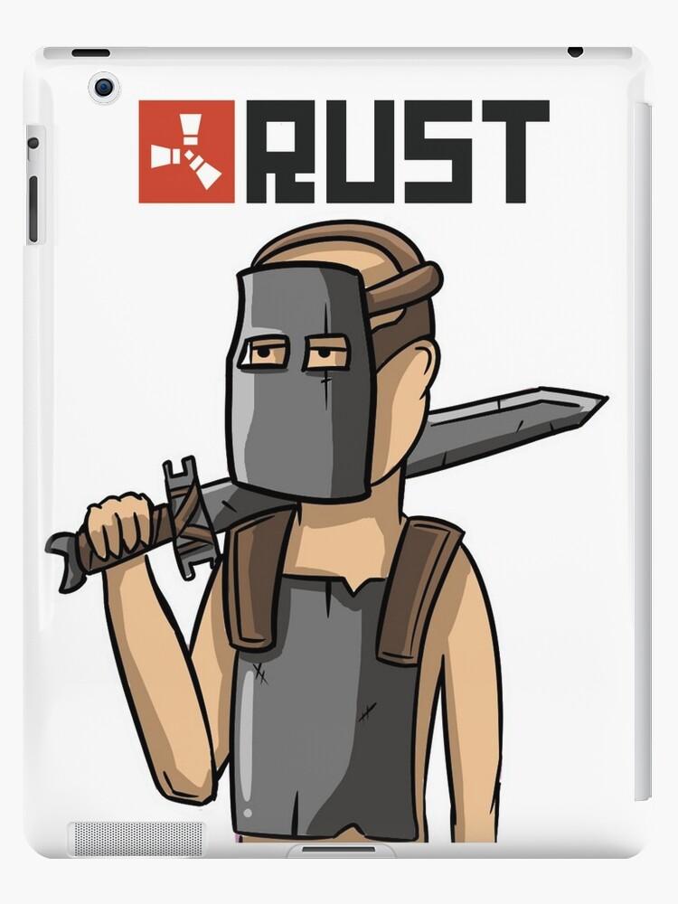 'Rust Warrior' iPad Case/Skin by cemolamli