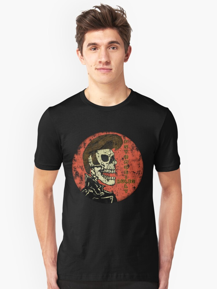 Psychobilly Rules Unisex T-Shirt Front