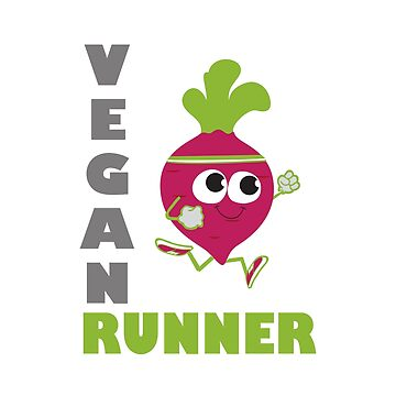 Running Beet Vegan Runner by Eggtooth