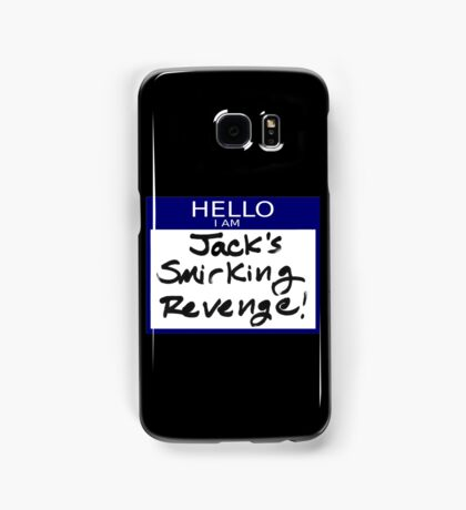 "Fight Club- ""I AM JACK'S SMIRKING REVENGE"" Samsung Galaxy Case/Skin"