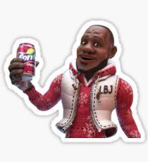 Wanna Sprite Cranberry? Lebron James Sticker