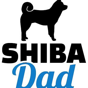 Shiba dad by Designzz