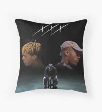 Triple X Dual Self Throw Pillow