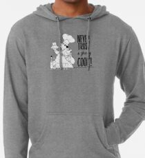 Just Add Colour - Never Trust a Skinny Cook Lightweight Hoodie
