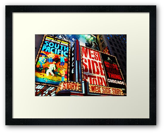 Broadway, New York marque by Michael Brewer