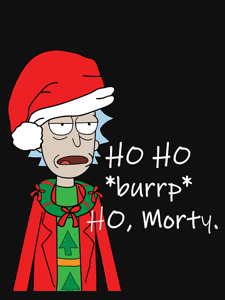 Ho Ho *burrp* Ho, Morty by danharmonsucks