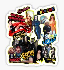 Trash Collage Sticker