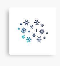 Snowflake   Winter christmas gift Metal Print