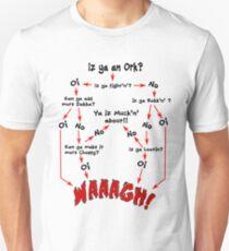 Ork Flow Chart Unisex T-Shirt