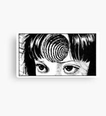 Junji Ito - Uzumaki (Hypnotic DLC) Canvas Print