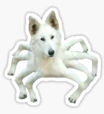 look out... it's spiderdog Sticker