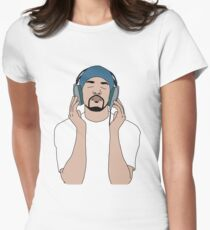 Craig David, Album Cover, Born to do it Women's Fitted T-Shirt