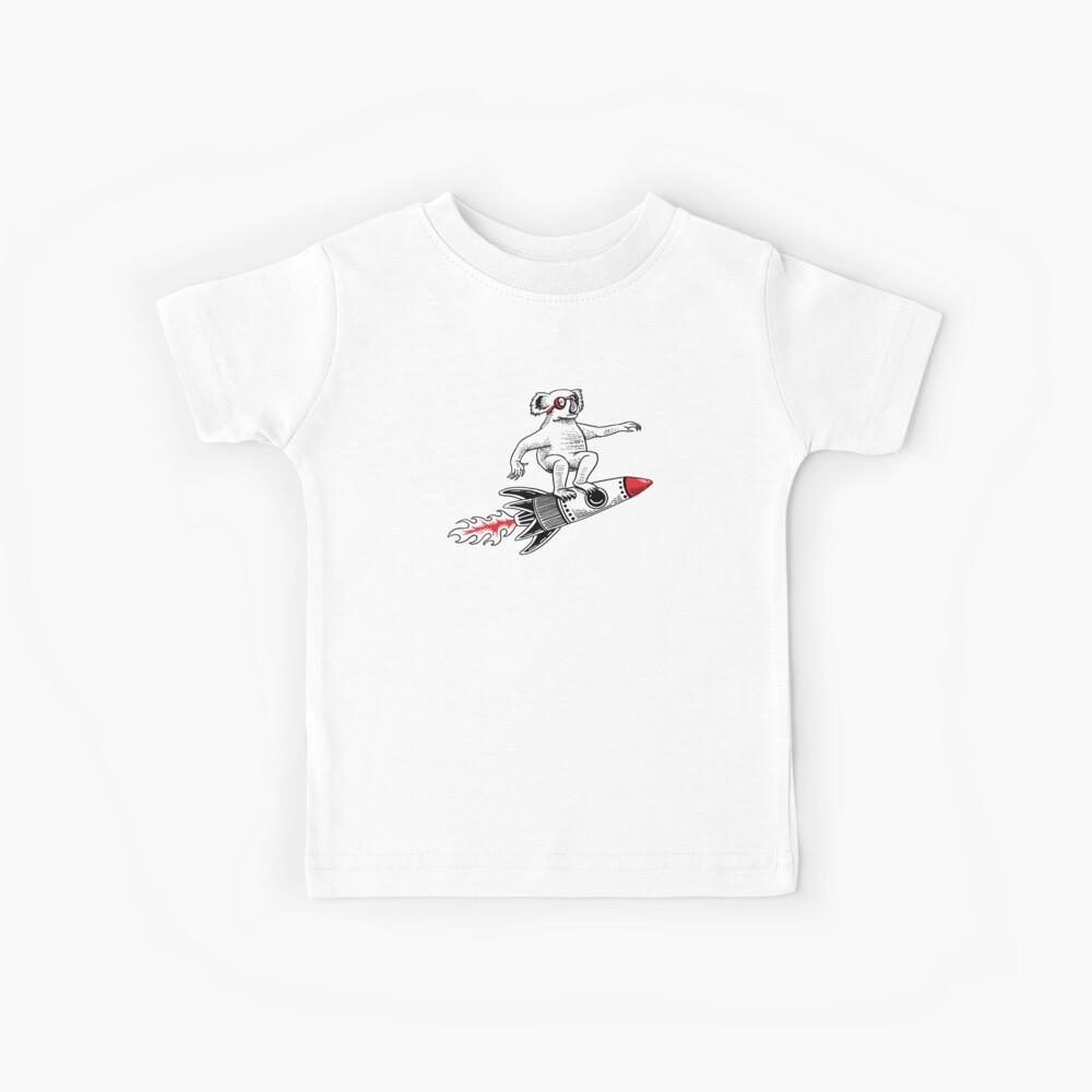 9e760059 Space Koala bear to the moon Shirt astronaut space   Kids T-Shirt