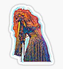 Stevie Nicks Painting Sticker