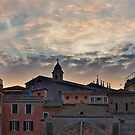 As the sun sets over Rome by Sam Ermer
