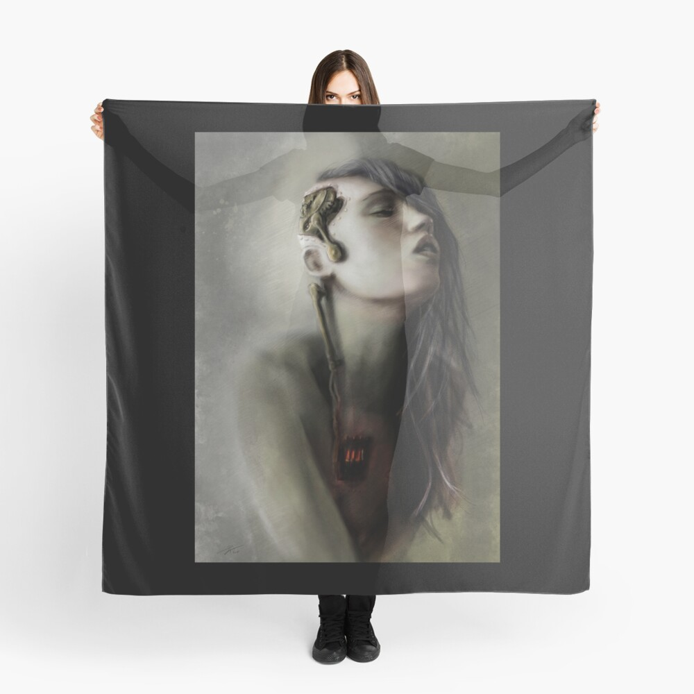 Thoughts' slave Scarf