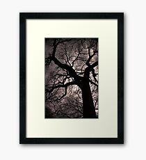 Dark and dark Framed Print