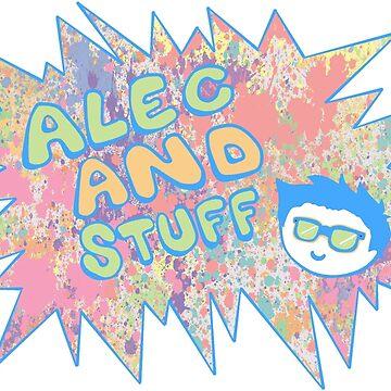 New alecandstuff Logo (SPLAT) by alecandstuff