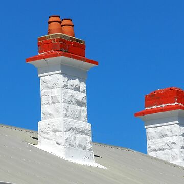 *Chimneys on Cottage of Lighthouse Keeper at Point Nelson* by EdsMum