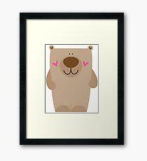 Big Bear Framed Print