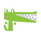 Cutie Crocodile by fromthepond