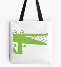 Cutie Crocodile Tote Bag