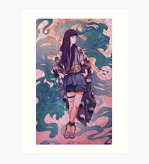 Lioness Queen Art Print
