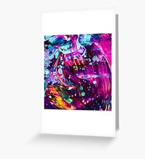 Abstract Paint Mix 30 Greeting Card