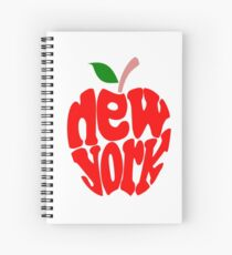 Big Apple New York Spiral Notebook