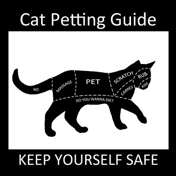 Cat Petting Guide by ValentinaHramov